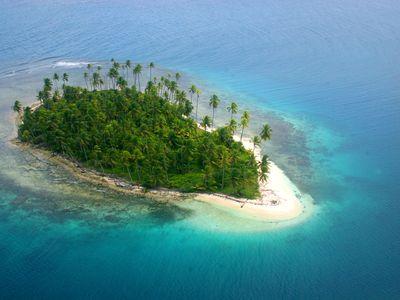Panama San Blas Insel 1