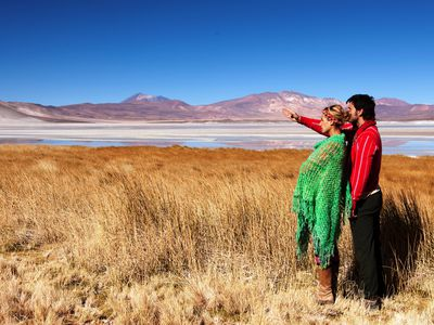 Chile Atacama salar de aguas calientes