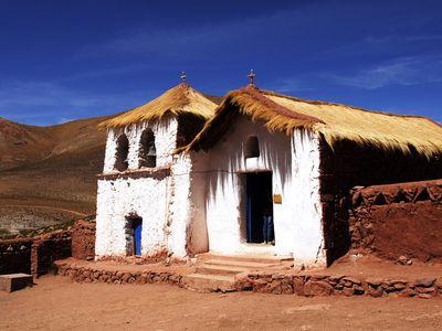 Chile Atacama Machuca Haus
