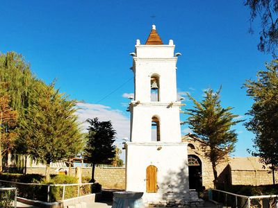 Chile Atacama Toconao Kirche