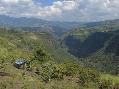 Kolumbien San Agustin Tal Rio Magdalena