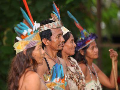 Kolumbien Amazonas Bevölkerung