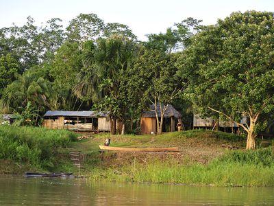 kolumbien Amazonas Häuser