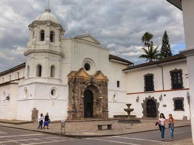 Kolumbien Popayán Kirche Santo Domingo