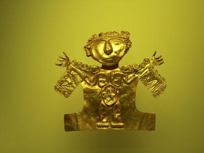 Kolumbien Bogota Goldmuseum