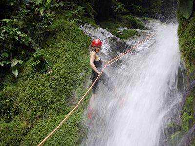 Costa Rica Selva Bananito Lodge WasserfallJPG