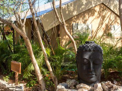Mexiko Xpuha Serenity Luxury Tented Camp Außenansicht