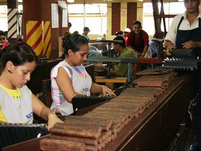 Nicaragua Esteli Zigarrenfabrik Arbeiterinnen