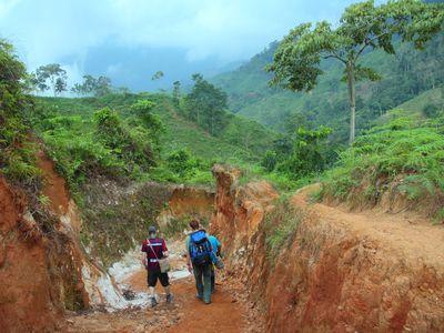 Kolumbien Santa Marta Trekking Ciudad Perdida Wanderer