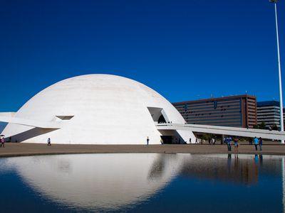 Brasilien Brasilia Museum