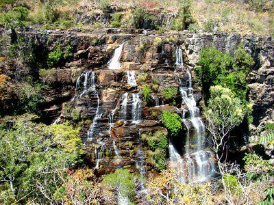 Brasilien Chapada Diamantina Wasserfall