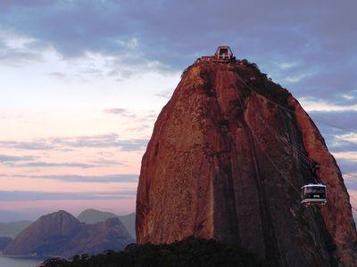 Brasilien Rio de Janeiro Drahtseilbahn