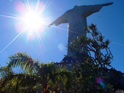 Brasilien Rio de Janeiro Statue
