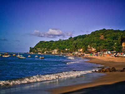brasilien praia de pipa strand