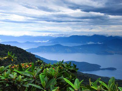 brasilien ilha grande ausblick