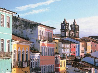 Brasilien Salvador Altstadt