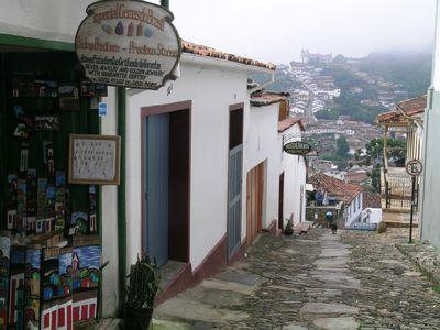 Brasilien Minas Gerais Strassenbild
