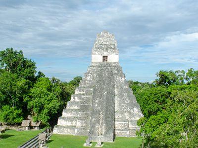 Guatemala-Flores-Tikal-Sonne