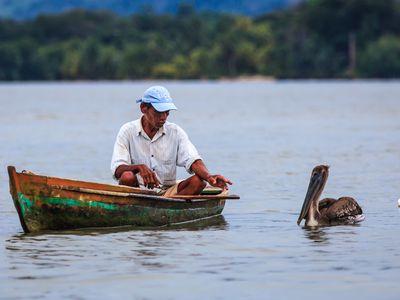 Guatemala-Rio-Dulce-Bootsfahrt-nach-Livingston