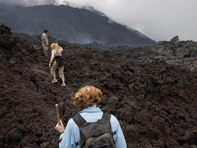 Guatemala Vulkan Pacaya
