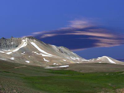 Argentinien mendoza Berg