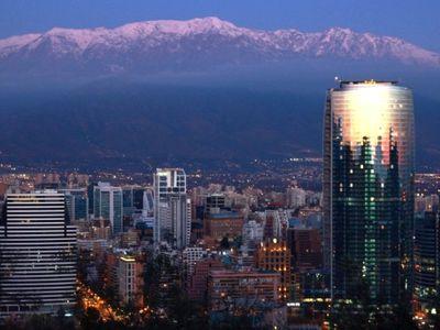chile Santiago Nacht