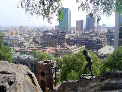 Chile Santiago Parque Santa Lucia