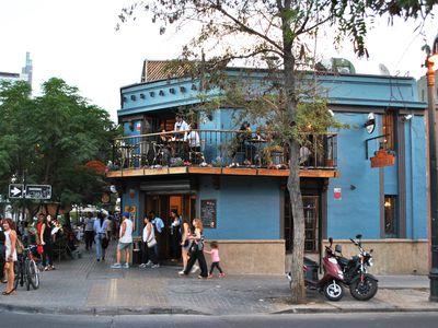 Chile Santiago Stadtleben