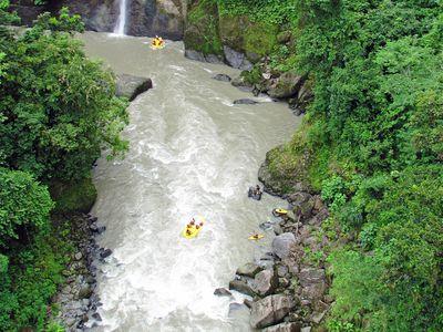 Cr Rafting von oben