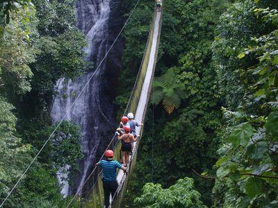 Costa Rica LosCampesinos Hängebrücke