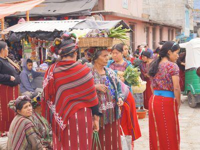 Guatemala Todos Santos Frauen