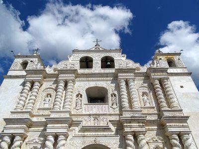 Guatemala Zunil Kirchenfassade
