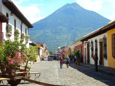 Guatemala Antigua Innensstadt