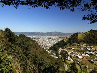 Guatemala Quetzaltenango Aussicht