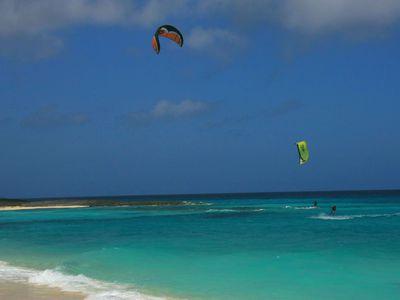 Kuba Cayo Santa Maria Windsurfer