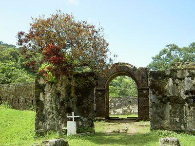 Panama Portobelo Ruinen