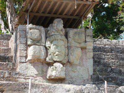 Guatemala Copán Mayaruinen
