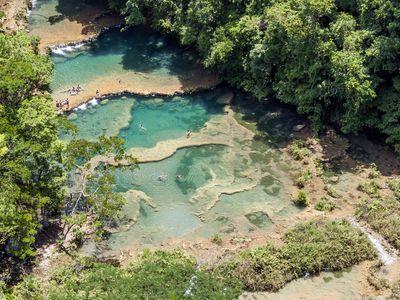 Guatemala Semuc Champey Menschen