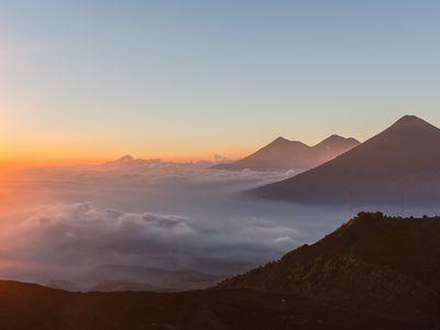 Guatemala Vulkan Pacaya Aussicht