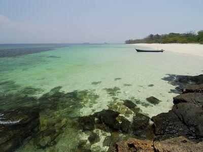 Panama Isla Contadora Boot