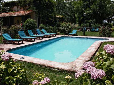 Argentinien San Antonio de Areco El Ombu Pool