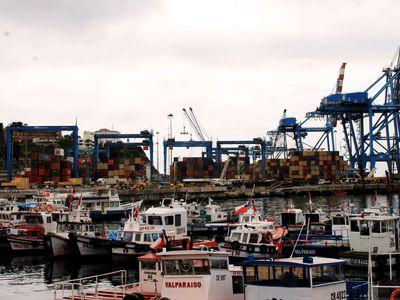 Chile Valparaíso Hafen