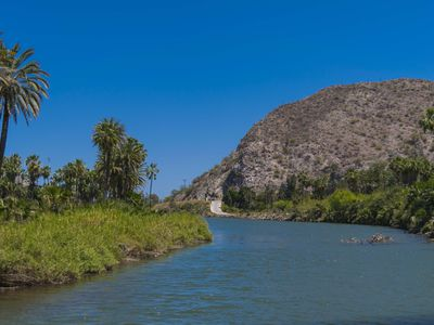 Mexiko Baja California Oase Mulege iStock 836409372