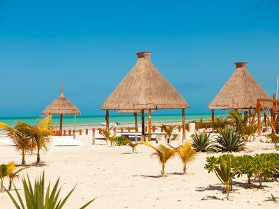 Mexiko Isla Holbox Strand2 iStock 179275174