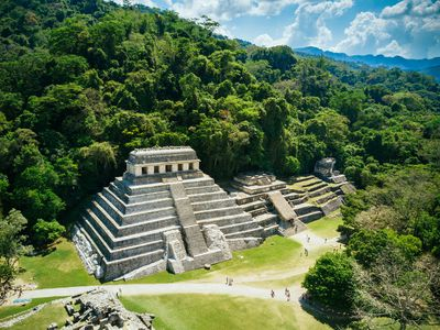 Mexiko Palenque Stätte