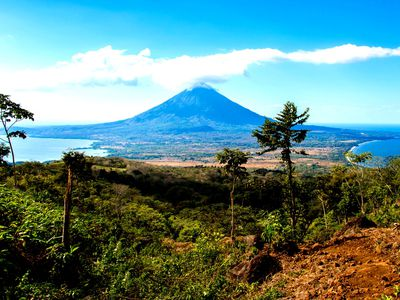 Nicaragua Insel Ometepe Ausblick