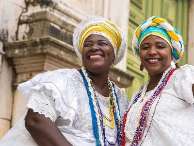 Kolumbien Cartagena Menschen