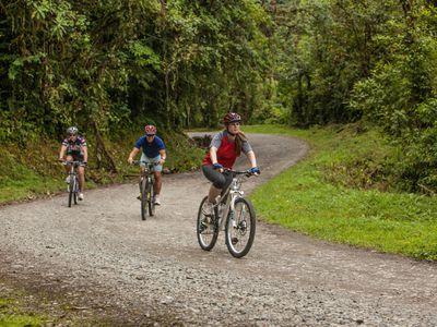 Costa Rica E Bike Tour Wald