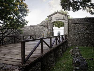 Uruguay Colonia Gate iStock 506589798