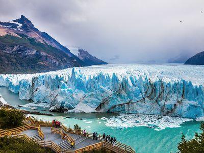 Argentinien Chile Patagonien Rundreise Perito Moreno Gletscher